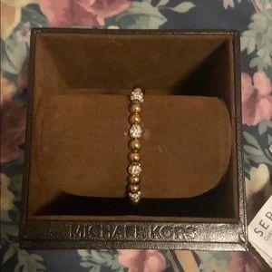 Michael Kors Gold beaded bracelt